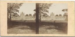 BROSSIER-CHARLOT/Chateau De Romilly Prés Cloye/ Eure Et Loir/ Vers 1872-1874   STE36 - Stereo-Photographie
