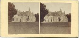 BROSSIER-CHARLOT/Chateau De La Barre Prés St Calais / Eure Et Loir/ Vers 1872-1874   STE37 - Photos Stéréoscopiques