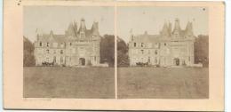 BROSSIER-CHARLOT/Chateau De St Agile Prés Mondoubleau/ Loir Et Cher/ Vers 1872-1874   STE38 - Photos Stéréoscopiques