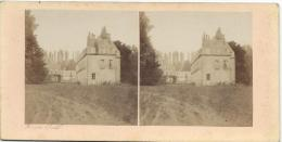 BROSSIER-CHARLOT/Ch�teau de Coulonge pr�s St Calais /Sarthe/ Vers 1872-1874  STE43