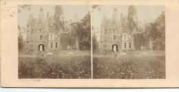 BROSSIER-CHARLOT/Ch�teau de St Agile pr�s Mondoubleau/Loir et Cher/ Vers 1872-1874 STE45