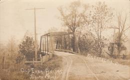 Real Photo - Old Iron Bridge, South Road, Alexandria - United States