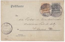 P29 - STRASSBURG KONIGSHOFEN - 1906 - Pour Worms - - Germany