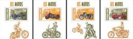 nig13413d Niger 2013 Motorcycles Motorbike Marilyn Monroe Elvis Presley 4 s/s