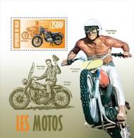 nig13413b Niger 2013 Motorcycles Motorbike Elvis Presley s/s