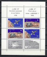 ESPACIO - RUMANÍA 1971 - Yvert #H84 - MNH ** - Espacio