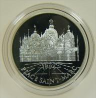 FRANCIA - 100 FRANCS - 15 ECUS 1994 PLACE SAINT-MARC ITALIE MONUMENTS D'EUROPE - Commemorative