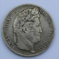 F-324.54 - Louis-Philippe I - 5 Francs, 1836 BB - France