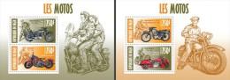 nig13413c Niger 2013 Motorcycles Motorbike Marilyn Monroe  2 s/s