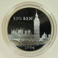 FRANCIA - 100 FRANCS - 15 ECUS 1994 BIG BEN MONUMENTS D´EUROPE - Commemorative