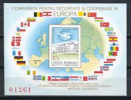 RUMANIA 1983 - Yvert #H161A - MNH ** - Hojas Bloque