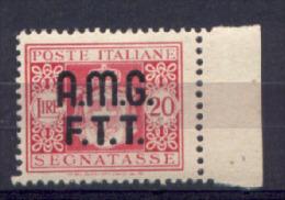 Trieste A 1947 Segnatasse Sass. S 4 **/MNH VF - 7. Triest