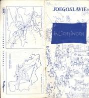 Brochure Dépliant Toerisme Joegoslavie 1965 - Inlichtingen - Non Classés