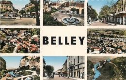 01 BELLEY MULTI VUES CPSM FORMAT CPA - Belley