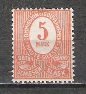 Allemagne - Empire - Plébiscite - 1920 - Michel 9 - Neuf * - Germany