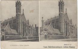 Carte Postale / Vue st�r�oscopique Julien DAMOY/Londres /Hotel Lincolnl/S�rieN�2/Vers 1910   STE59
