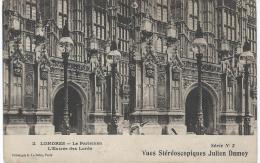 Carte Postale / Vue st�r�oscopique Julien DAMOY/Londres /Le parlement/S�rieN�2/Vers 1910   STE60