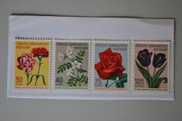 Turquie 1960 Fleurs Neufs Sans Charnière/MNH Série Complète - Unused Stamps