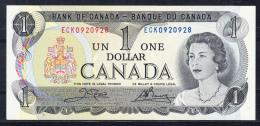 CANADA 1973 I DOLLAR ISABEL II.ULTIMO BILLETE DE 1 DOLLAR,NUEVO.PLANCHA   B386 - Canada