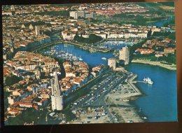 CPM Neuve 17 LA ROCHELLE Vue Aérienne Du Port Des Tours Tour Des Quatre Sergents - La Rochelle