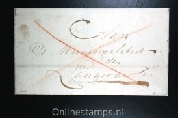 Nederland: Cover Haarlem Naar Langer, Haarlem Cursief Waszegel - Niederlande