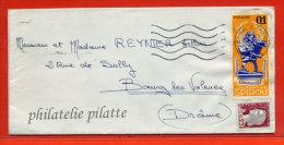 FRANCE LETTRE DE 1962 AVEC VIGNETTE DU JOURNAL DE SPIROU BANDE DESSINEE - Curiosidades: 1960-69 Cartas