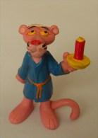 Figurine Bully PANTHERE ROSE Bougie Bonnet De Nuit 1983 The United Artist Germany - Non Classés