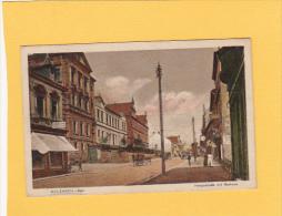 CPA -  D -  SULZBACH - SAAR   - Hauptstrasse Mit Rathaus - Germany
