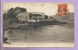 06 - CAP D'ANTIBES - Le Port De L'Oliveraie - Oblitérée En 1912 - Antibes