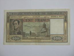 """100 Francs """" Banque Nationale De Belgique  1949  Nationale Bank Van Belgie - Honderd Frank *** EN ACHAT IMMEDIAT *** - [ 2] 1831-... : Belgian Kingdom"""