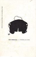 HB ... FALLIERS VU DE DOS ... SERIE HUMORISTIQUE - Illustrators & Photographers