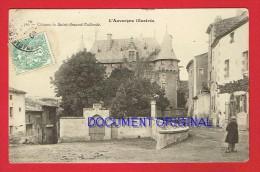 Puy-de-Dôme - ST AMAND TALLENDE - ST AMANT TALLENDE - Le Château ... - France
