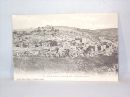Israël. Jérusalem Siloë Et Le Mont Du Scandale Dans La Vallée De Josaphat. - Israel