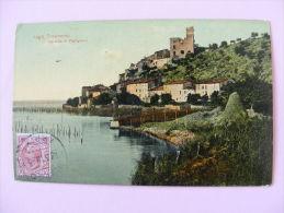 CPA Lago Trasimeno/Lac Trasimène - Perugia (Italia) - Castello Di Passignano - Perugia