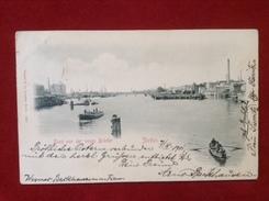 AK Stettin Blick Von Der Neuen Brücke 1901 - Pommern