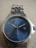 Montre Homme Guy Clarac Acier 3 ATM N°841A Cadran Bleu Nuit. Voir Photos. - Watches: Modern