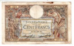 Billet - 100 Francs Merson - FT.13.5.1937 - E.53983 - 1871-1952 Antichi Franchi Circolanti Nel XX Secolo