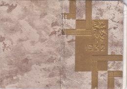 CALENDARIETTO PICCOLO DA TASCA CON TARIFFE POSTALI FRANCESI        1932 -2-882-17644-651 - Calendriers