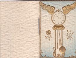 CALENDARIETTO PICCOLO DA TASCA OROLOGIO A DONDOLO CON TARIFFE POSTALI FRANCESI        1908 -2-882-17643-642 - Petit Format : 1901-20