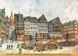 Briefkaart / Postkarte BRD - Alt Frankfurt - [7] West-Duitsland