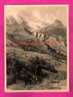 Photo 18 X 24 - Hautes-Alpes - Jeune Garçon Beret Et Culotte Courte Regardand La Montagne - Young Boy Mountain - Places