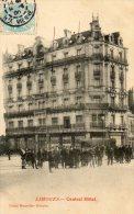 Gros Rassemblement Devant Le Central Hôtel En 1905-----------Réf VR3514 - Limoges