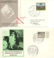 2 Kaarten / Karten Deutsche Bundespost Berlin - 1965 - [5] Berlijn