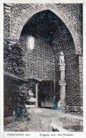 Feldpost  1918,  Marienburg, Westpreußen,  Eingang Zum Süd-Parcham - War 1914-18