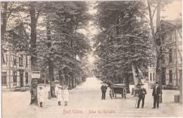 BAD EILSEN Allee Im Kurpark Belebt Pferde Kutsche Modisches Jungvolk Biedermeier 27.5.1907 Gelaufen - Bückeburg