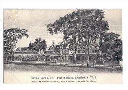 Antilles - Trinidad - Port Of Spain - Queen's Park  Hotel - Written 1917 - Trinidad