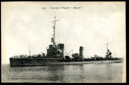 Cpa   Torpilleur D' Escadre Mazaré  Marine De Guerre     MABT23 - Guerre