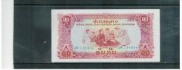 LAOS   ,   ( 1979 )    ,   10  Kip   ,     Pick# 20 B     ,    Unc - Laos