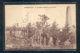 6032 - BOSSERVILLE : Le Cimetière Militaire - Autres Communes