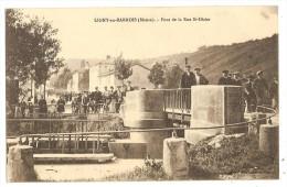 CPA 55 LIGNY En Barrois Pont De La Rue Saint Dizier - Non Classificati